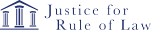 Justice for Rule of Law logo